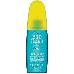 TIGI Bed Head Beach Me Wave Defining Mist 3.4 oz / 100 ml Fine Gel curly hair