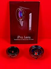 iPro Lens Century Fisheye And Wide Angle Lenses For Iphone 4/4S ~ Lenses Only