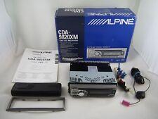 Alpine Cda-9820Xm Xm / Cd Receiver Car Stereo with Bass Engine, 18W Rms x 4