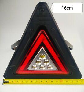 Warning Car Triangle Flashing Led Light Road Traffic Emergency Breakdown Safety