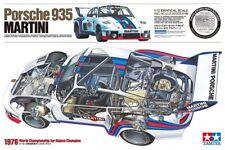 Tamiya 12057 1/12 Porsche 935 Martini Plastic Model Kit