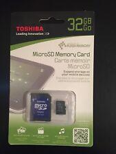 Toshiba 32GB MicroSD Card (New)