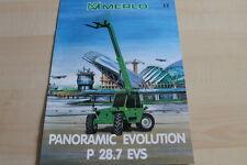 127599) merlo panoramic Evolution p 28.7 EVs folleto 01/1999