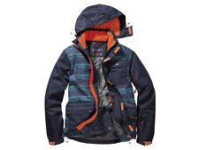Snowboardanzug Skianzug Thinsulate gr 52 54 L blau orange 5.000 Wassersäule NEU