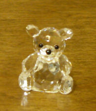 CRYSTAL WORLD #1060 APRIL BIRTHSTONE BEAR, DIAMOND, New From Retail Store
