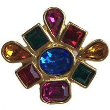 Pin's YVES SAINT LAURENT multicolore vintage