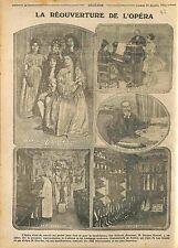 Jacques Rouché Directeur de l'Opéra de Paris Danseuse Etoile Décors   WWI 1915