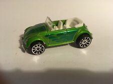 Hot Wheels 2007 Mystery Car. Green Vw Convertible. Loose