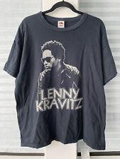 VTG Lenny Kravitz Time for a Love Revolution Band Tour Concert Rock T-Shirt XL