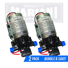2-Pack SHURflo Fresh Water Pump 12v 3.5 GPM DC RV 45 psi Motorhome 2088-554-144