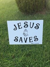 THANK YOU JESUS yard signs