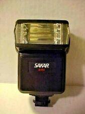 Vintage, Sakar Model 27M - 35mm Film Camera, Hot Shoe Electronic Flash, VG Works