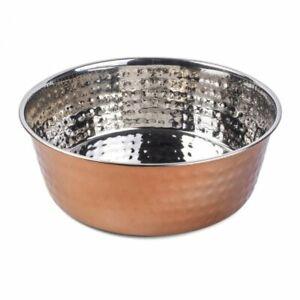 Copper Craft Bowl Stainless Steel Dog Food Bowl 14cm 17cm 21cm