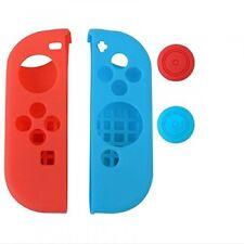 Nintendo Switch Protectores de Gel para Joy-Con con Tapas de agarre del pulgar