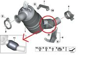 BMW Genuine 4 Cyl DPF Flexi Pipe Repair Kit E81 E82 E87 E90 E91 E92 7812263