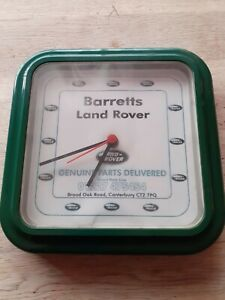 Barretts Land Rover Clock