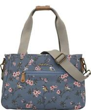 Brakeburn Blossom Shoulder Bag Blue Floral Bird Cross Body Messenger