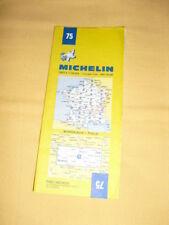 MICHELIN Carte Routière et Touristique N°75 Bordeaux Tulle 1984