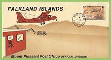 Aviation Cover Falkland Island Stamps