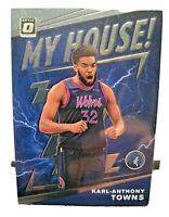 2019-20 Donruss Optic KARL ANTHONY TOWNS My House Silver Holo Prizm #2