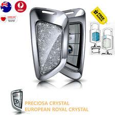 Car key BMW crystal cover keyring European royal crystal BMW SERIES 5/X5/X3 Silv