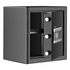 Xl Safe Box Home Security Office Safety Extra Large Capacity Black Hidden Key