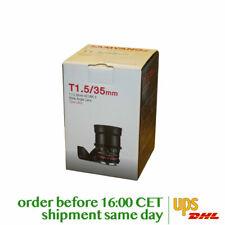 Samyang 35mm T1.5 VDSLR AS UMC II for Canon EF