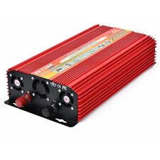 Peak 5000W Car Power Inverter Converter Adapter Dual DC 12V to 220V AC Outlets