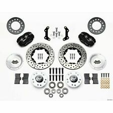 Wilwood 140-11019-D Forged Dynalite Pro Series Front Disc Kit for Mopar A/B/E