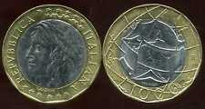 ITALIE    ITALY  1000 lire 1998  ( bis )