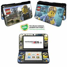 Lego City Undercover Vinyl Skin Sticker for Nintendo 3DS XL