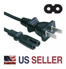 2Prong AC Power Cord Cable Lead For Lenovo Laptop Notebook Charger AC Adapter