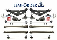 Mini Cooper R50 R52 R53 1.6L Front & Rear Susp Repair Kit Control Arms Lemforder