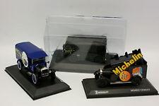UH SB 1/43 - Lot de 3 Michelin Ford - Morris - Citroen