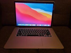 "Apple MacBook Pro A1398 15.4"" Laptop (Mid 2015) 500GB, 16GB, 2.5i7 !!FREE SHIP!!"