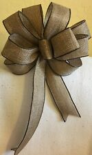 "8"" W BURLAP BOW FOR  Party Wedding GIFTS, DECORATION"