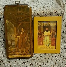 Pair of Signs -  Ben Franklin & Colman's Mustard Made to look Vintage