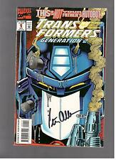TRANSFORMERS G2 # 1 PETER CULLEN SIGNED Montreal ComicCon 2016 NM FIRST PRINT