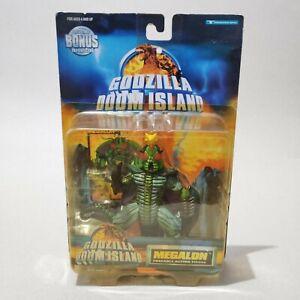 "1997 Trendmasters rare Godzilla Doom Island ""MEGALON"" Kaiju action figure"