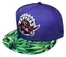 7 1/2 Toronto Raptors Weed Brim 59FIFTY New Era Fitted Purple / Red