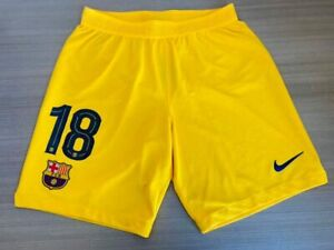 Short Barcelona 2019-20 Away Jordi Alba Champions League Spain Super Cup