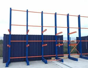 New Single Sided Outdoor Cantilever Racking Supplied & Delivered Anywhere in UK