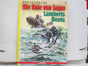 Comic Die Haie von Lagos: Lamberts Beute, Schultheiss, guter Zustand, comicplus+