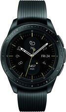 Samsung - Galaxy Watch Active Smartwatch 46m Aluminum - Black SM-R800