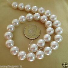 """14.5mm Round South Sea Shell Pearls Loose Beads Strand Gemstone Beads 16"""""""