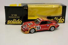 Solido 1/43 - Porsche 911 934 Meccarillos Le Mans 1977