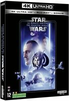 STAR WARS  EP 1 LA MENACE FANTOME  BLU RAY 4K ULTRA HD  NEUF SOUS CELLOPHANE