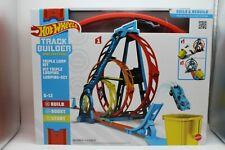 Hot Wheels Track Builder Unlimited - Tripple Loop Kit/Looping Set - Mattel