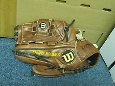 Kenny Rogers Wilson Game Used Glove
