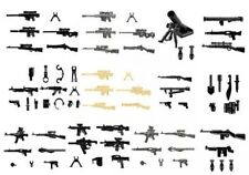 52 Custom LEGO Guns Lot WW2 Military Swat Police Army Weapons for Minifigures!!